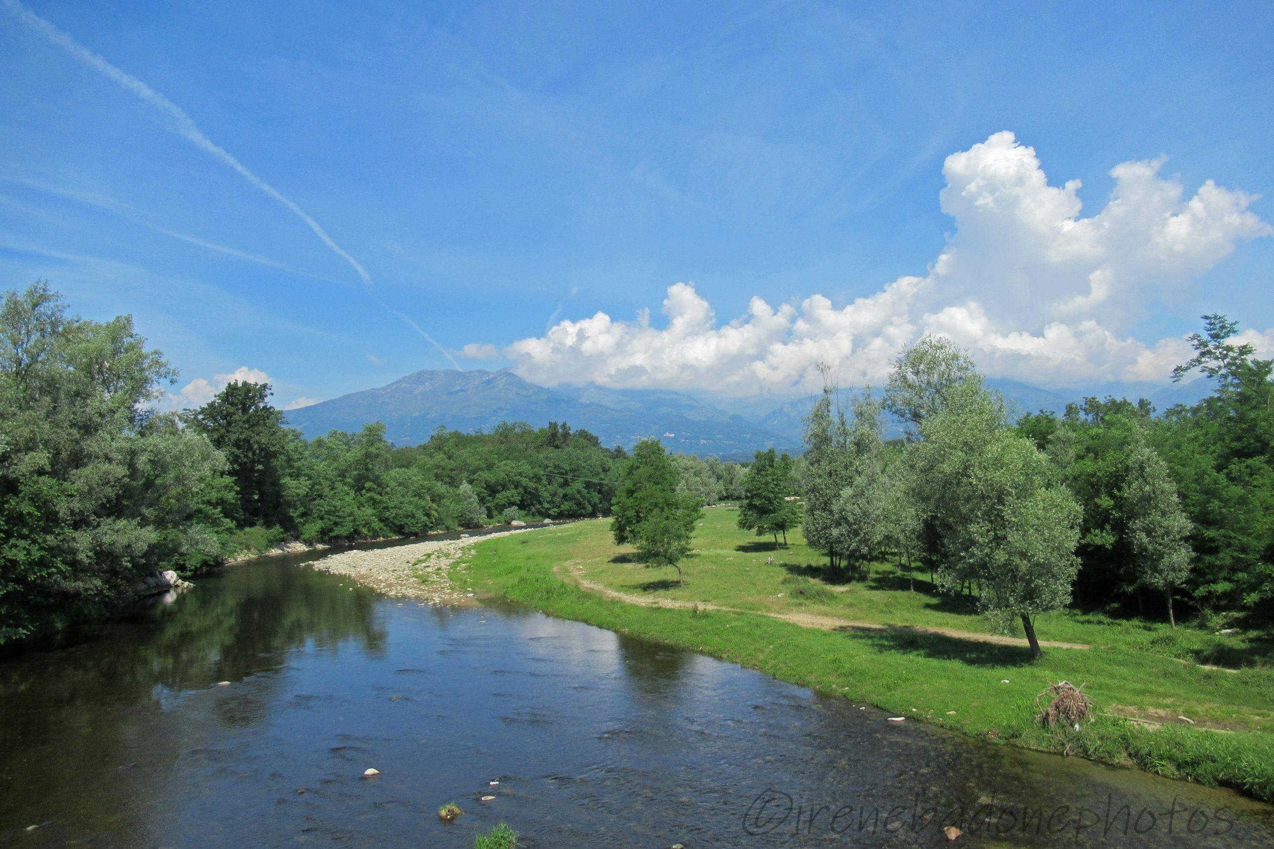 Panorama sulla Valle Elvo