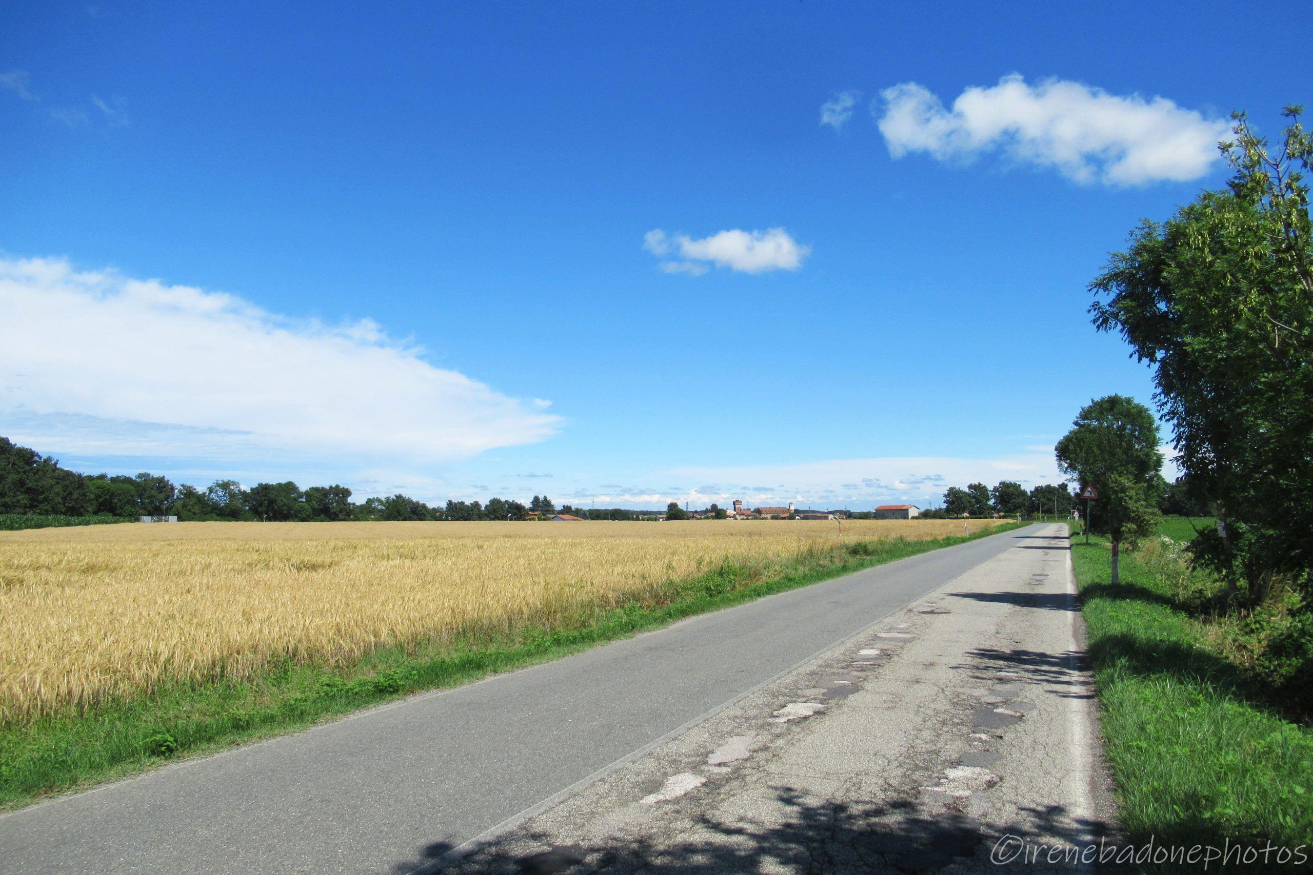 Tranquilla strada per arrivare a Verrone