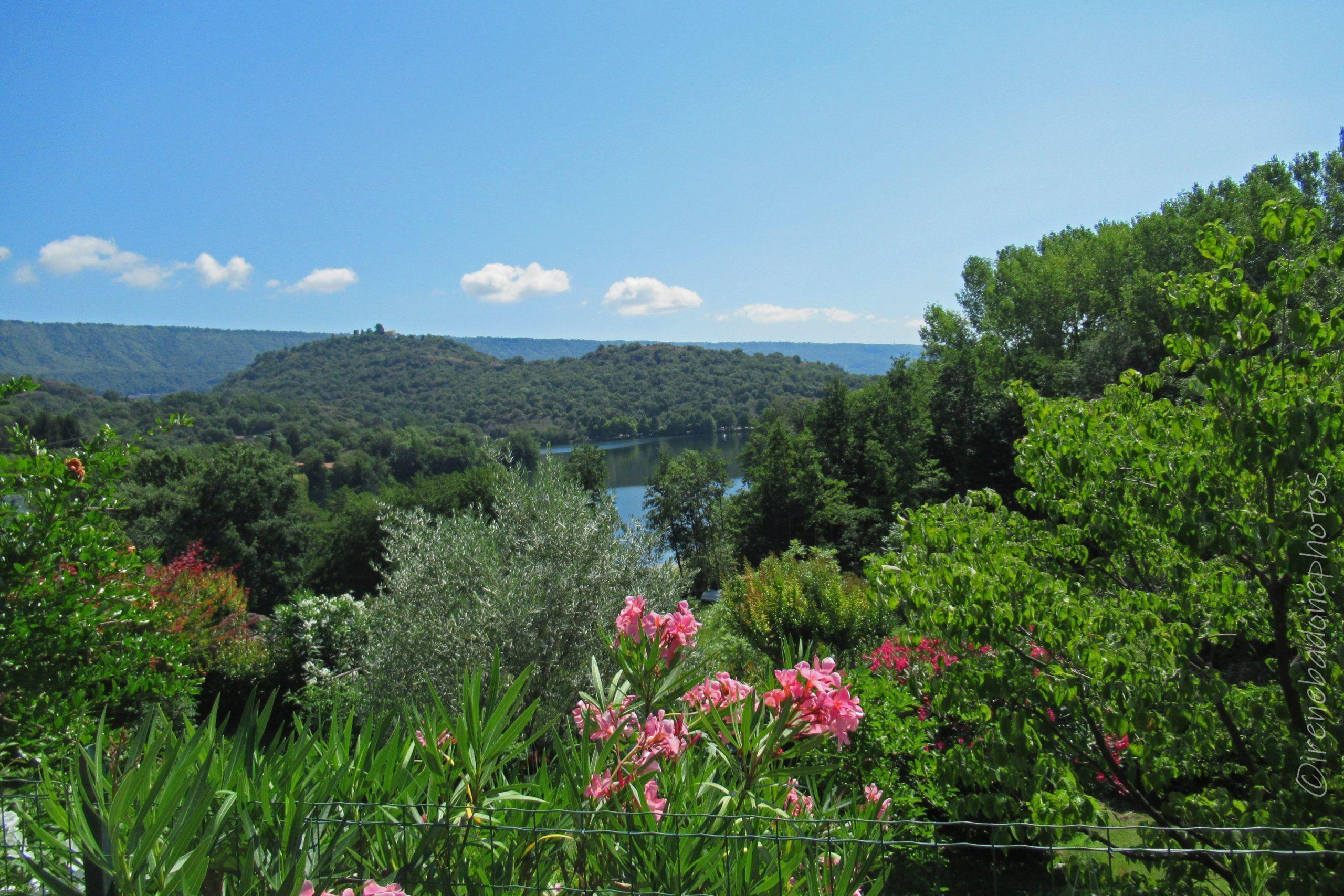 Panorama dalle alture del Lago Sirio