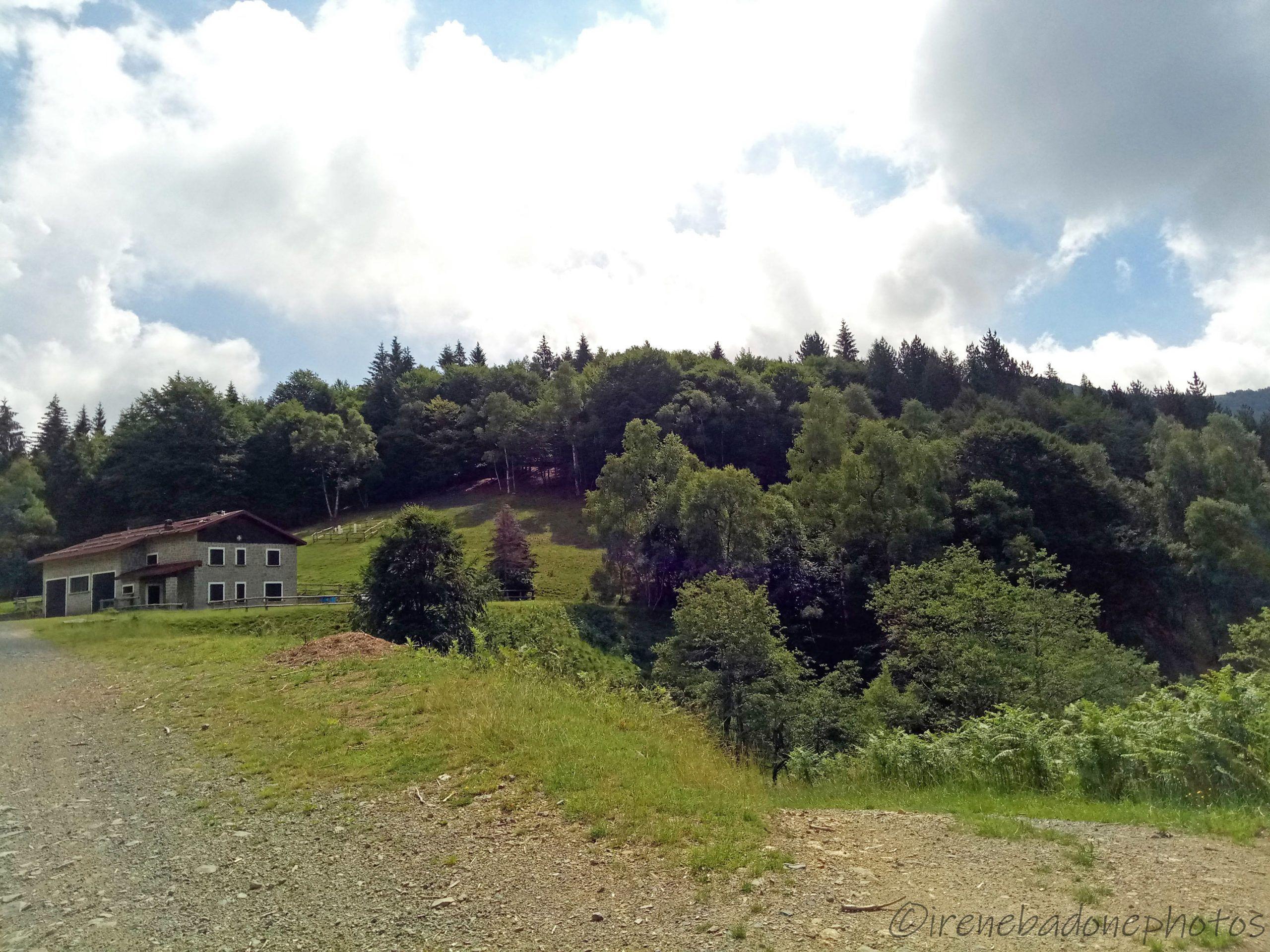 Primo stop: casa forestale Poggio Selletto
