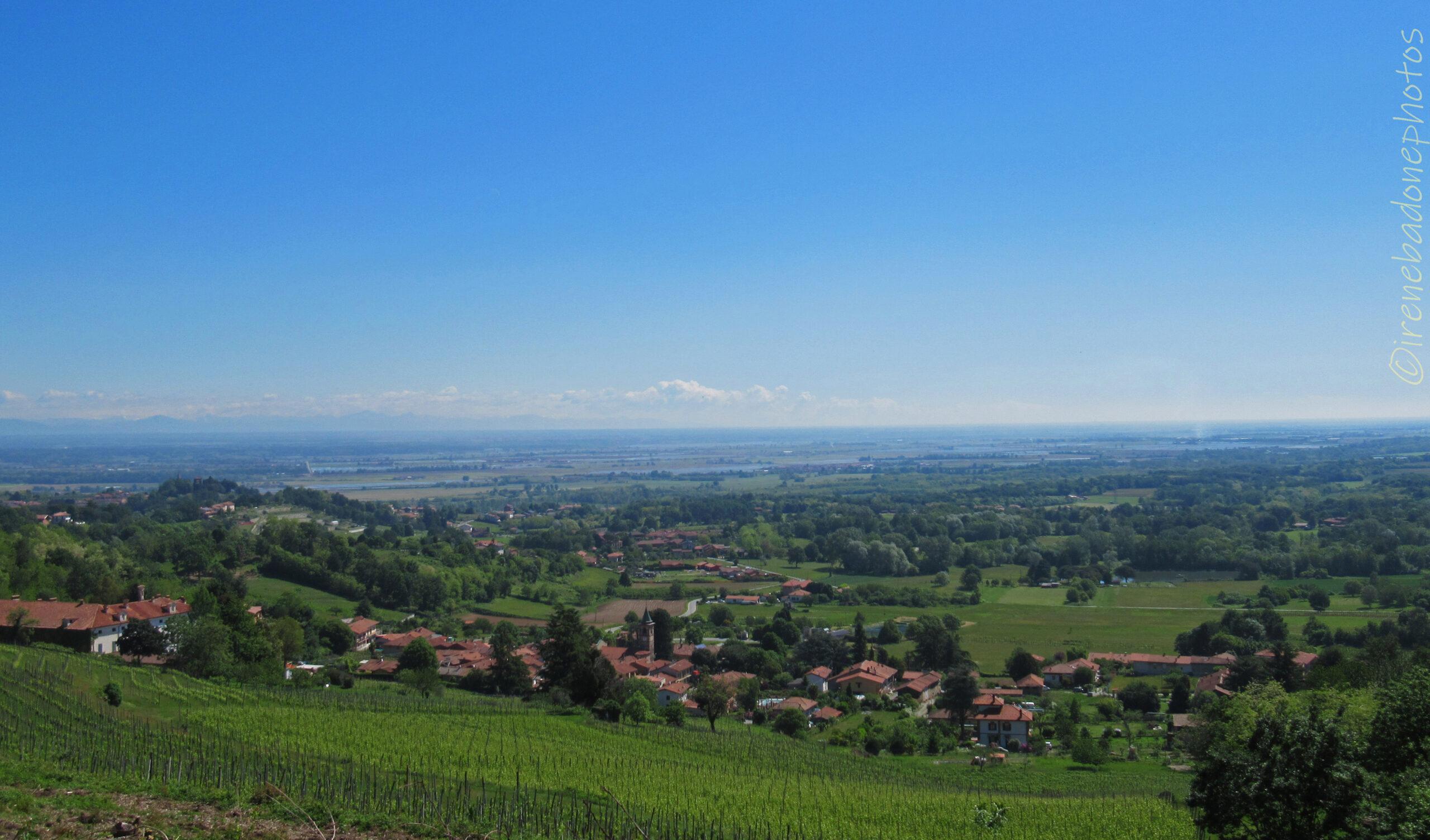 Panorama nei pressi della frazione San Secondo